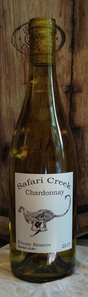 Chardonnay from Safari Creek Vineyard